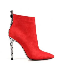 Vol - Red Sexy Fashion Women's Ankle Boots