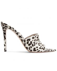 Maddy - Leopard Fashion Stilettos High Heels Sandals