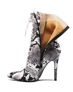 Colonel Boulevard - Snakeskin Women's Ankle Boots