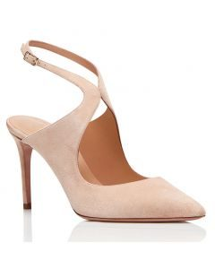 Calistoga Nude Pumps Stilettos Slingback High Heels Sandals