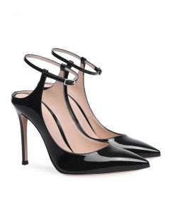 Corydon - Black Pumps Stilettos High Heels Sandals