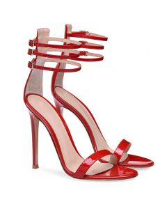 Winter Park - Stilettos Ankle Strap High Heels Sandals