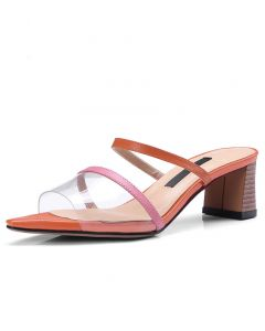 Kansas City - Fashion Women's Low Heels Sandals