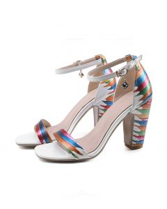 Jacksonville- Ankle Strap High Heels Sandals