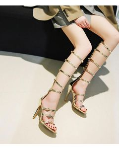 Simi Valley - Fashion Gladiator High Heels Sandals