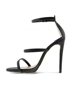 Palm Springs - Fashion Stilettos Ankle Strap High Heels Sandals