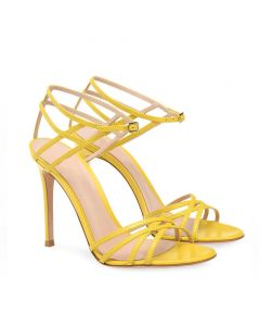 Durant Ave - Stilettos Ankle Strap High Heels Sandals