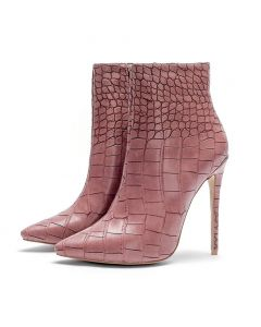 Ecarlates - Winter Sexy Stilettos Ankle Boots