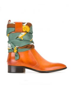 Elenore - Leather Fashion Women's Ankle Boots