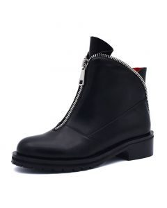 Grace - Black Winter Fashion Women's Ankle Boots