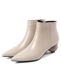 Escanaba Avenue - Leather Sexy Fashion Women's Ankle Boots