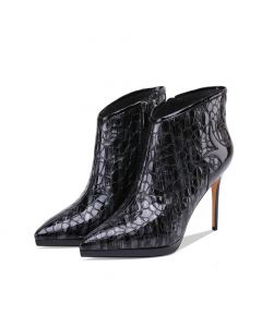 Sisu - Leather Sexy Fashion Women's Ankle Boots