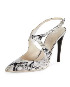 New London - Snakeskin Fashion Stilettos High Heels Pumps