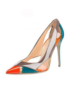 Pagosa Springs - Orange Fashion Stilettos High Heels Pumps