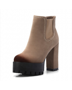 Fairy - Suede Fashion Platform Women's Ankle Boots